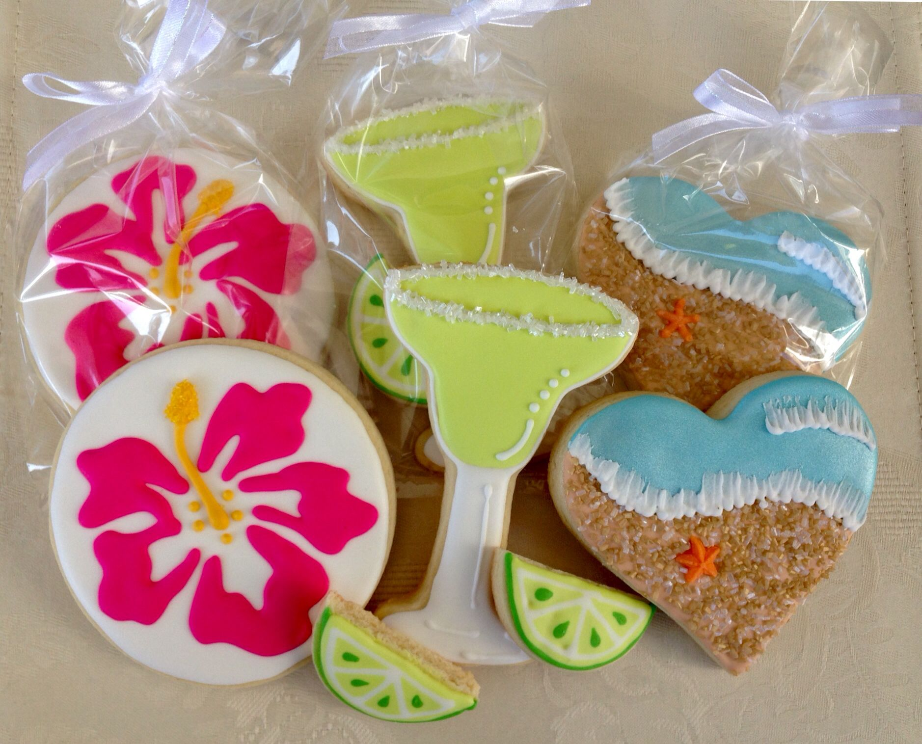 caribbean theme bridal shower cookies cookie cake pie cake cookies 10 anniversary party