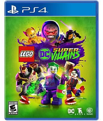 Cover Image For Lego Dc Super Villains Game Playstation 4 Lego Dc Xbox One Video Games Xbox One Games