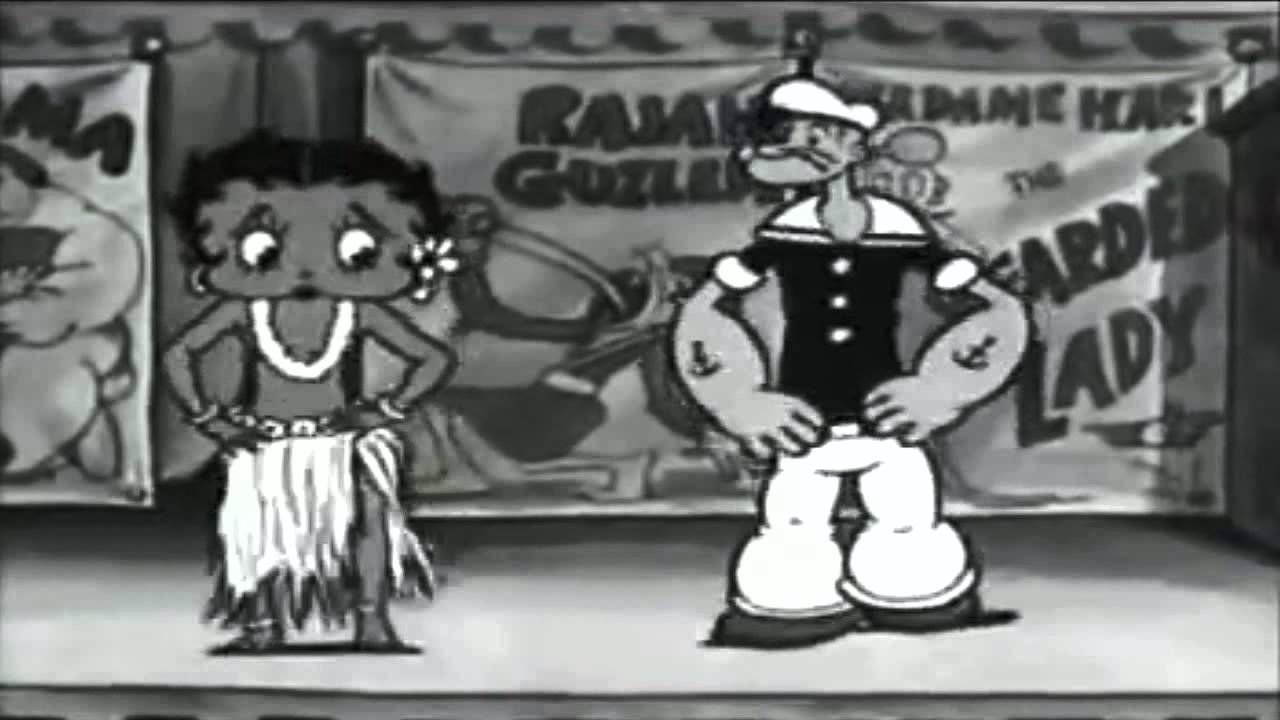 Betty Bup - the character of the drawn cartoons: history and interesting facts