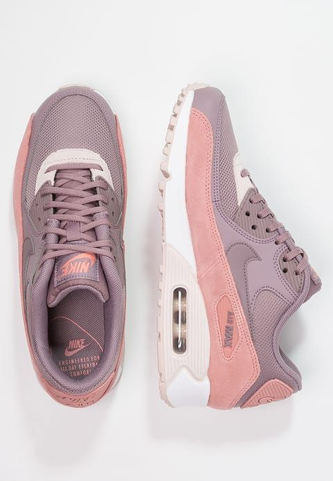 5cadacbb2322 Nike Sportswear AIR MAX 90 - Trainers - red stardust taupe grey silt red white  for £139.99 (28 09 17) with free delivery at Zalando