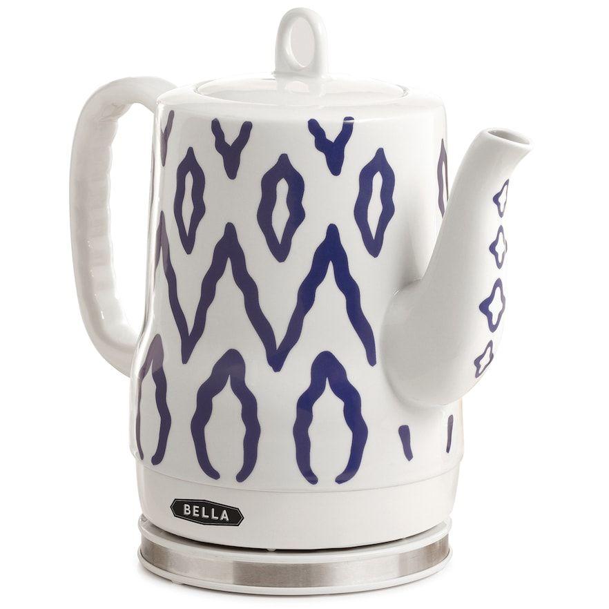 Bella aztekprint electric kettle kitchen appliances