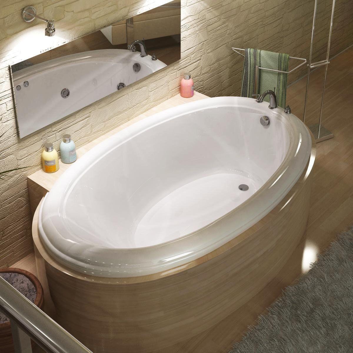 Atlantis 3660P Petite Oval Tub | Master Bath | Pinterest | Tubs ...