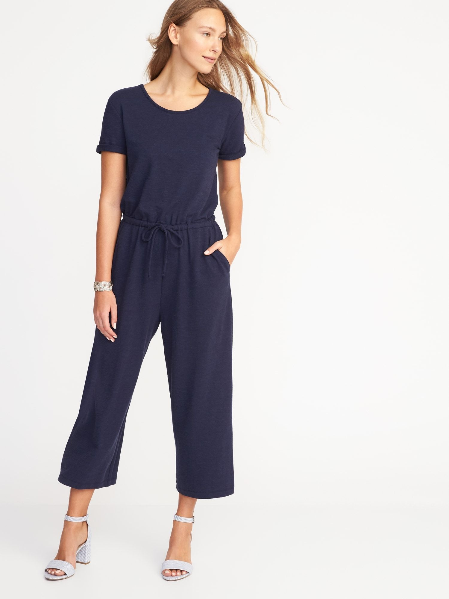 04a8e088edf5 Wide-Leg Bouclé Jumpsuit for Women