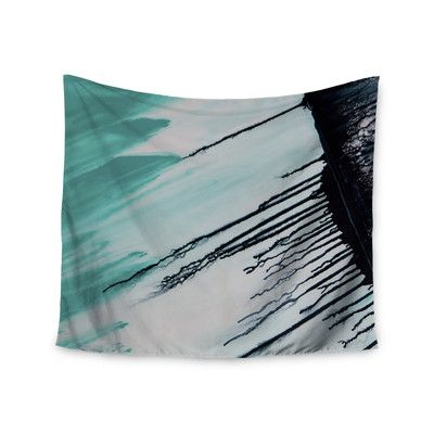 "East Urban Home ""Extractions"" by Steve Dix Wall Tapestry Size: 68"" H x 80"" W"