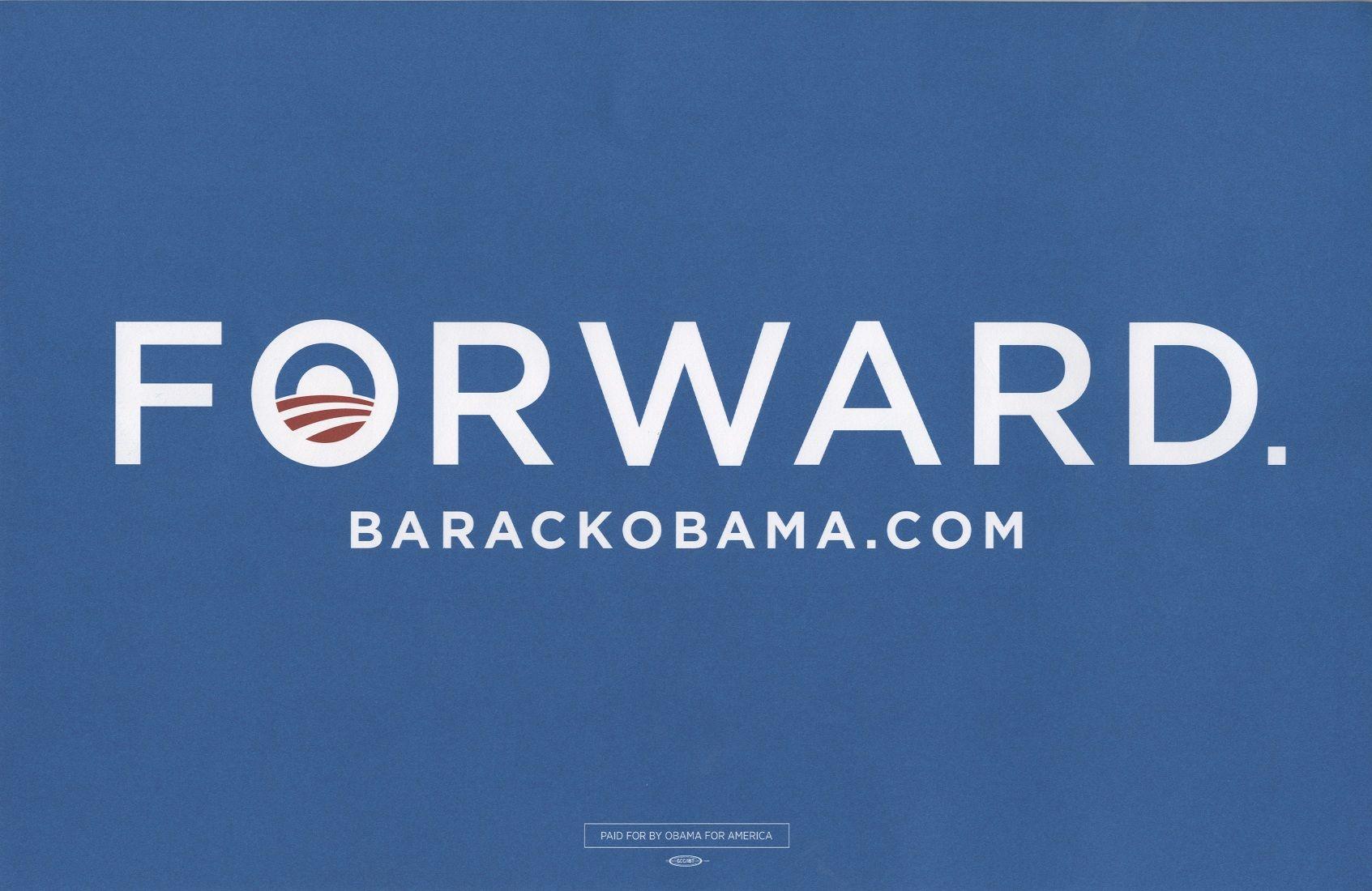 Barack obamas campaign signage obama campaign barack