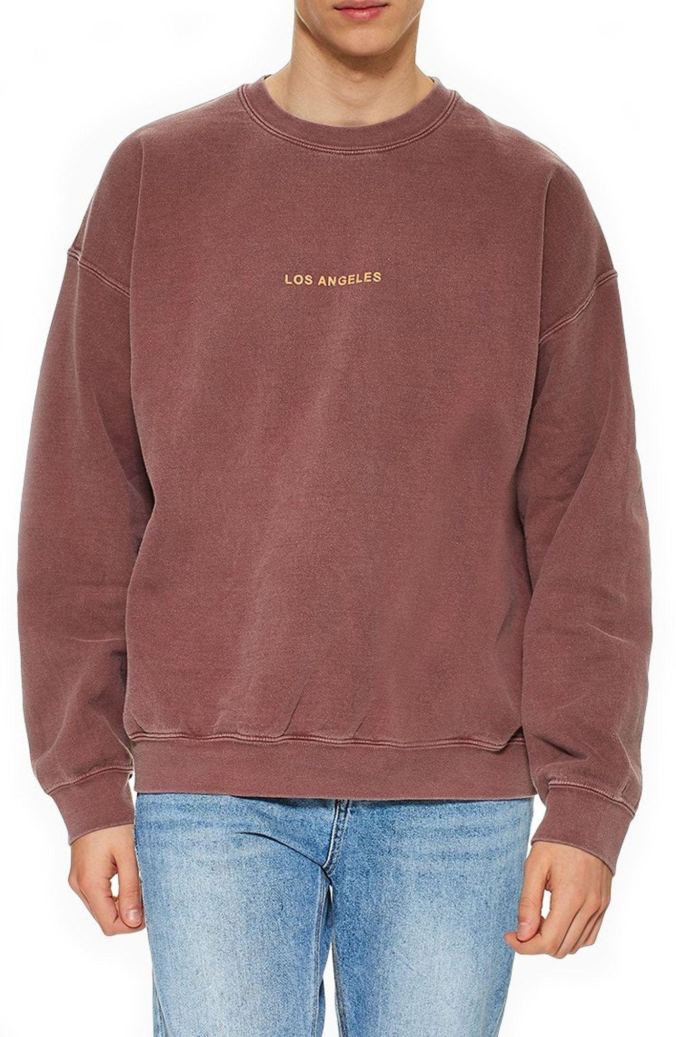 Topman Los Angeles Oversize Sweatshirt Topman Cloth Vintage Crewneck Sweatshirt Oversized Sweatshirt Sweatshirts [ 2024 x 1320 Pixel ]