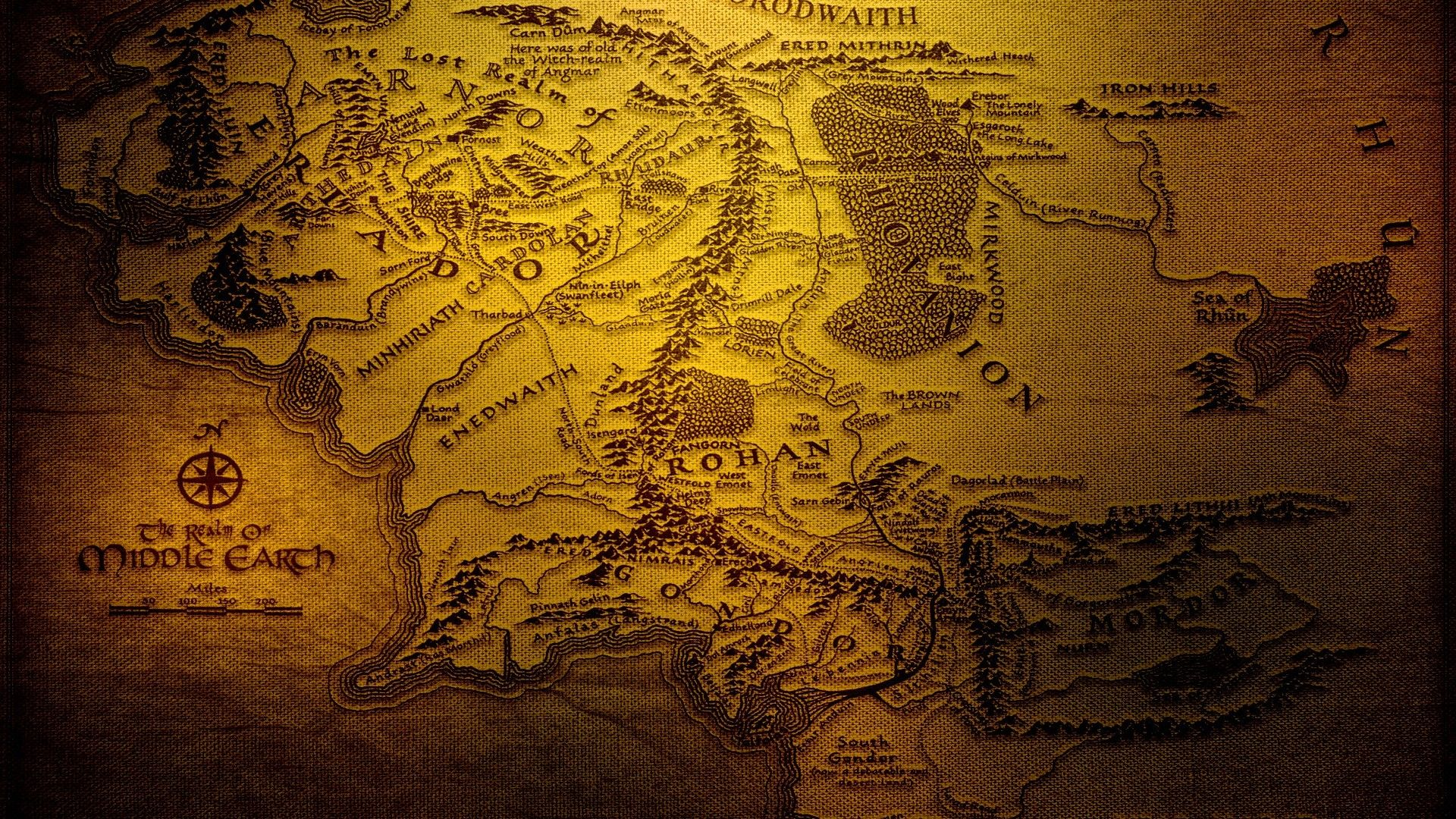 Lord Of The Rings Wallpapers 26 In 2020 Middle Earth Map