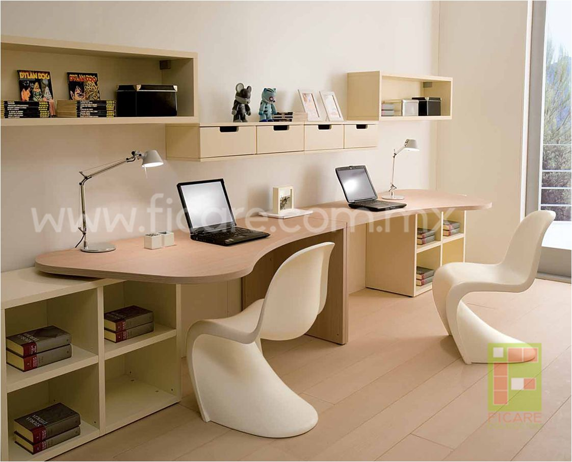 wonderful decorations cool kids desk. Wonderful And Ergonomic Bedroom Ideas For Two Children By DearKids : Cool With White Wall Bookcase Decorations Kids Desk