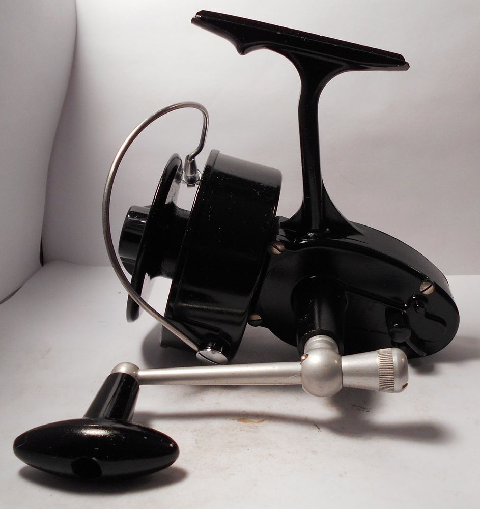 Vintage garcia mitchell 302 saltwater spinning spin for Old mitchell fishing reels