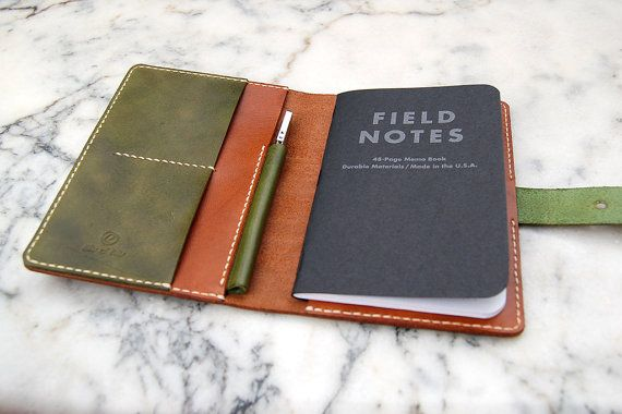 Field Notes Leather Cover Leather Journal Field By Ritsandrits