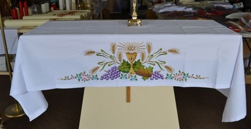 Catholic Altar Cloth Designs Google Search Altar Table