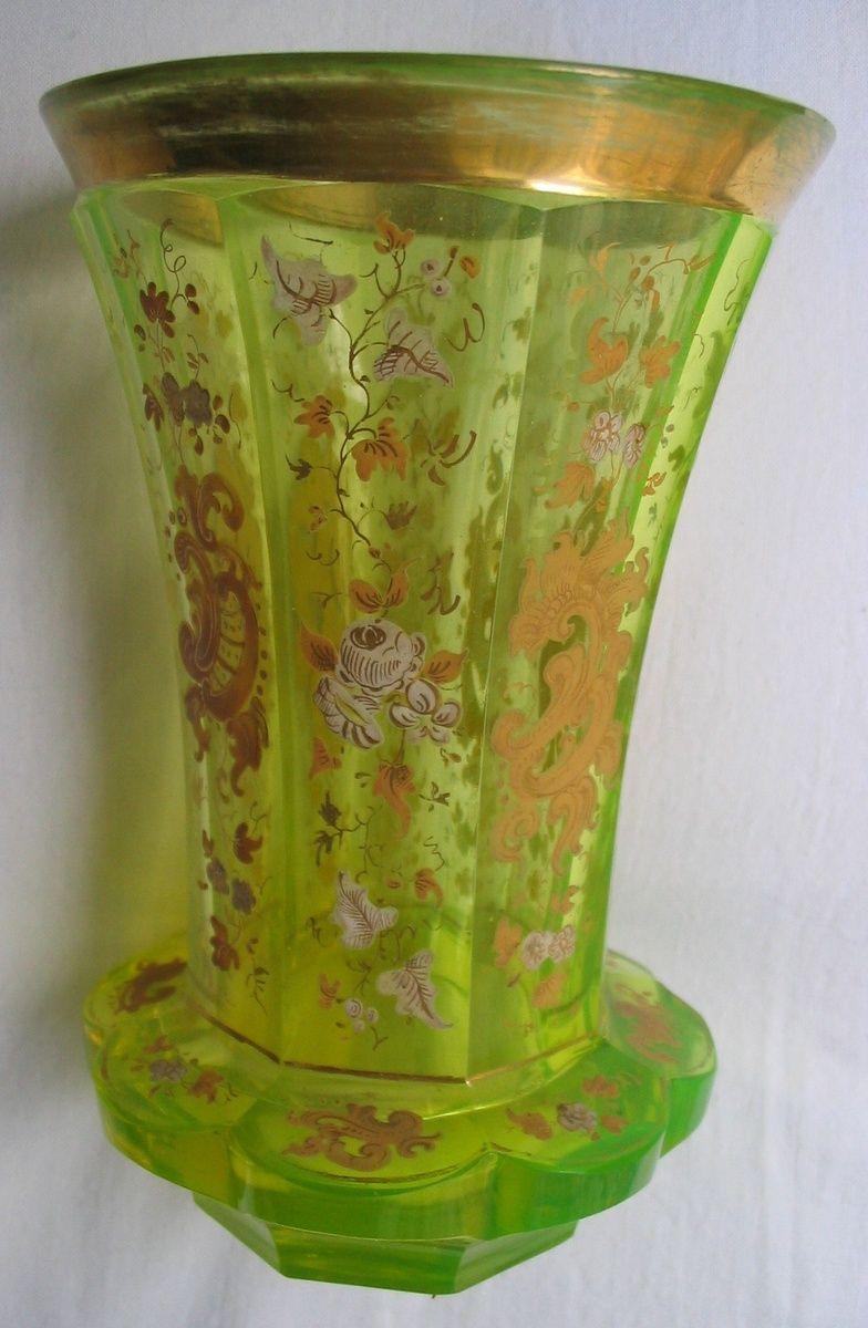 Early biedermeier beaker made of uranium annagrn glass about early biedermeier beaker made of uranium annagrn glass about 1840 most probably reviewsmspy