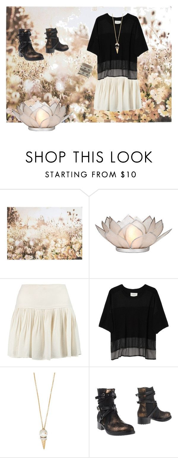 """""""Journey's End"""" by rurustarr ❤ liked on Polyvore featuring Graham & Brown, Cultural Intrigue, Étoile Isabel Marant, Public School, Kate Spade, Sebastian Professional, Rick Owens, blackandwhite, nature and ebonyandivory"""