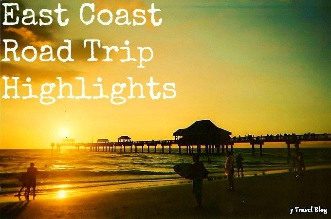 East coast road tripping highlights usa east coast road for Fun road trip destinations east coast