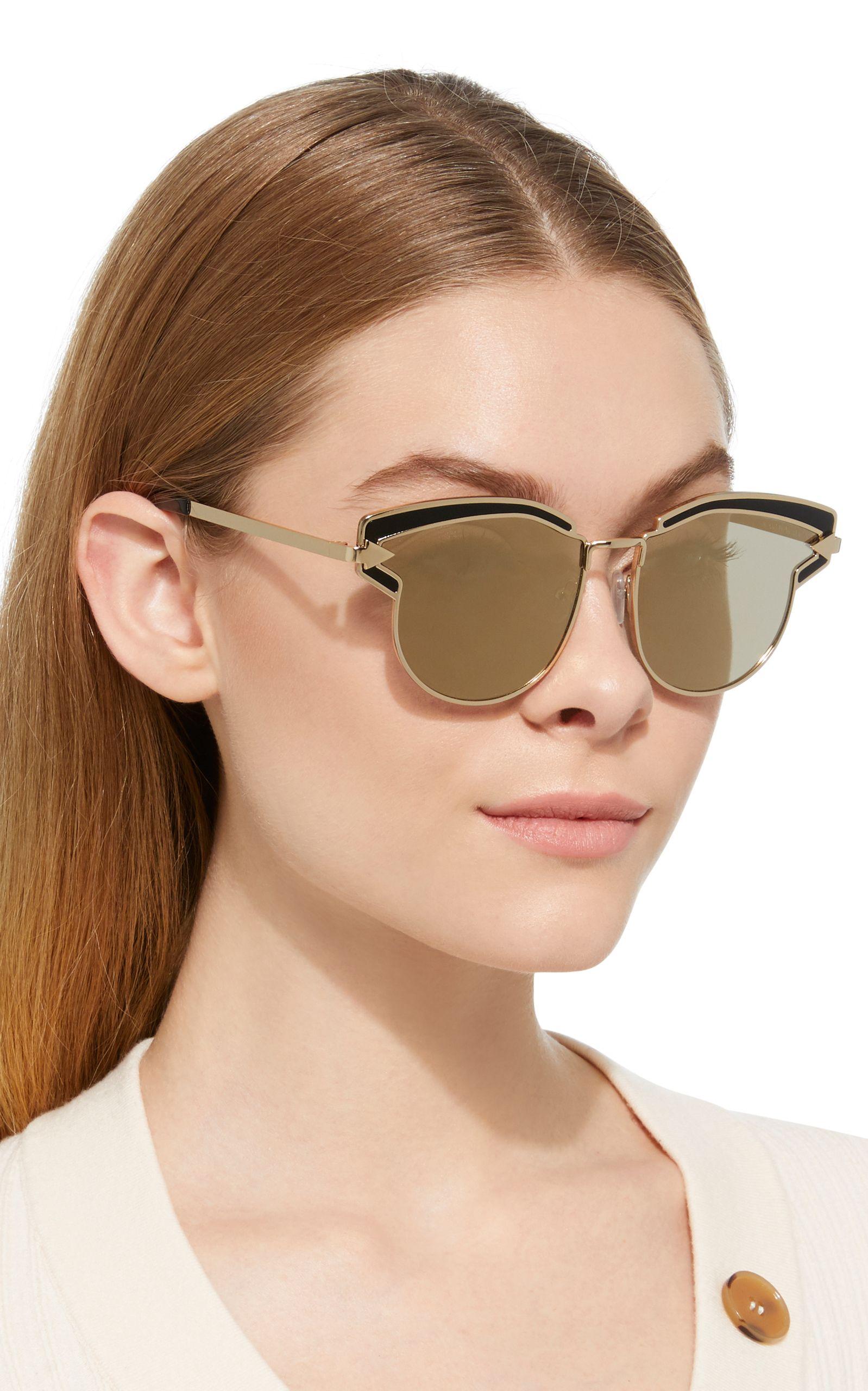 bd4ad6c1a95c Superstar Felipe Cat-Eye Acetate Sunglasses by KAREN WALKER Now Available  on Moda Operandi
