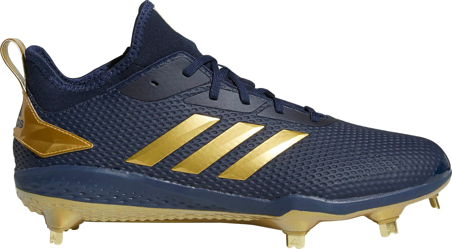 check out fcc83 e075e adidas Men s adiZERO Afterburner V Metal Baseball Cleats, Size  10.5, Blue