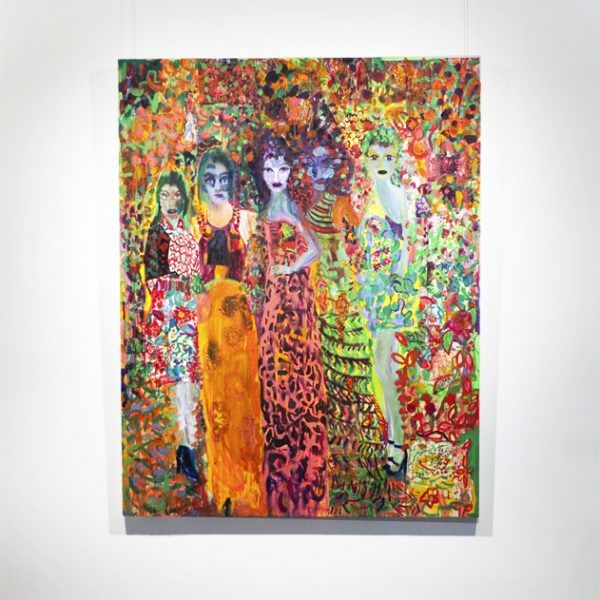 'The Beautiful People' by Vanessa Mitter for her exhibition 'Unquiet Brides' at Unit G Gallery. 售卖美术品