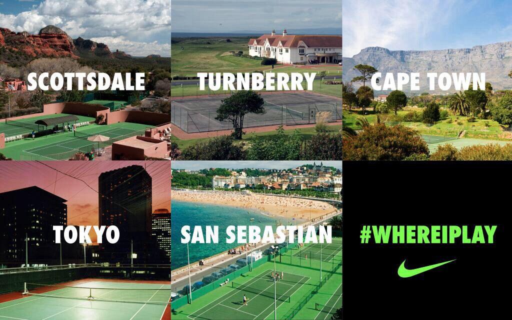 Where do you play- nike tennis
