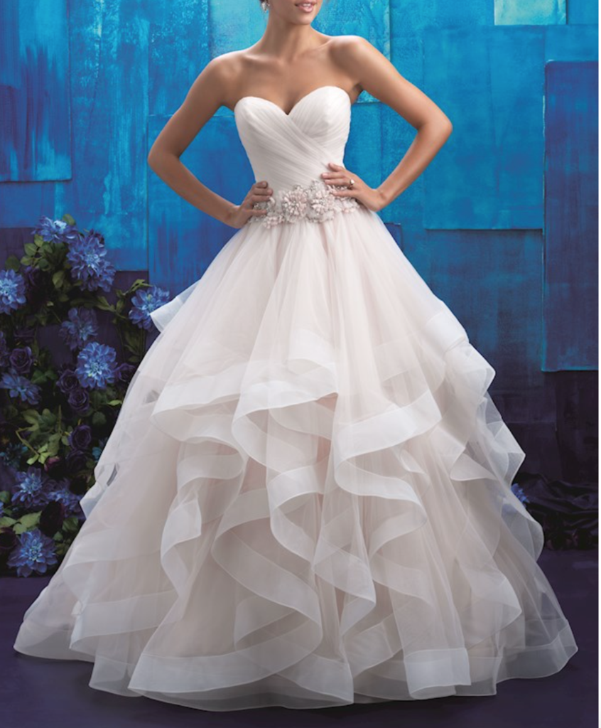 51a292592ead  800 for an Allure  9408  size 16 used wedding dress front view on model   ck out this site guarantee everything in the sell plus 5 day money back  guarantee