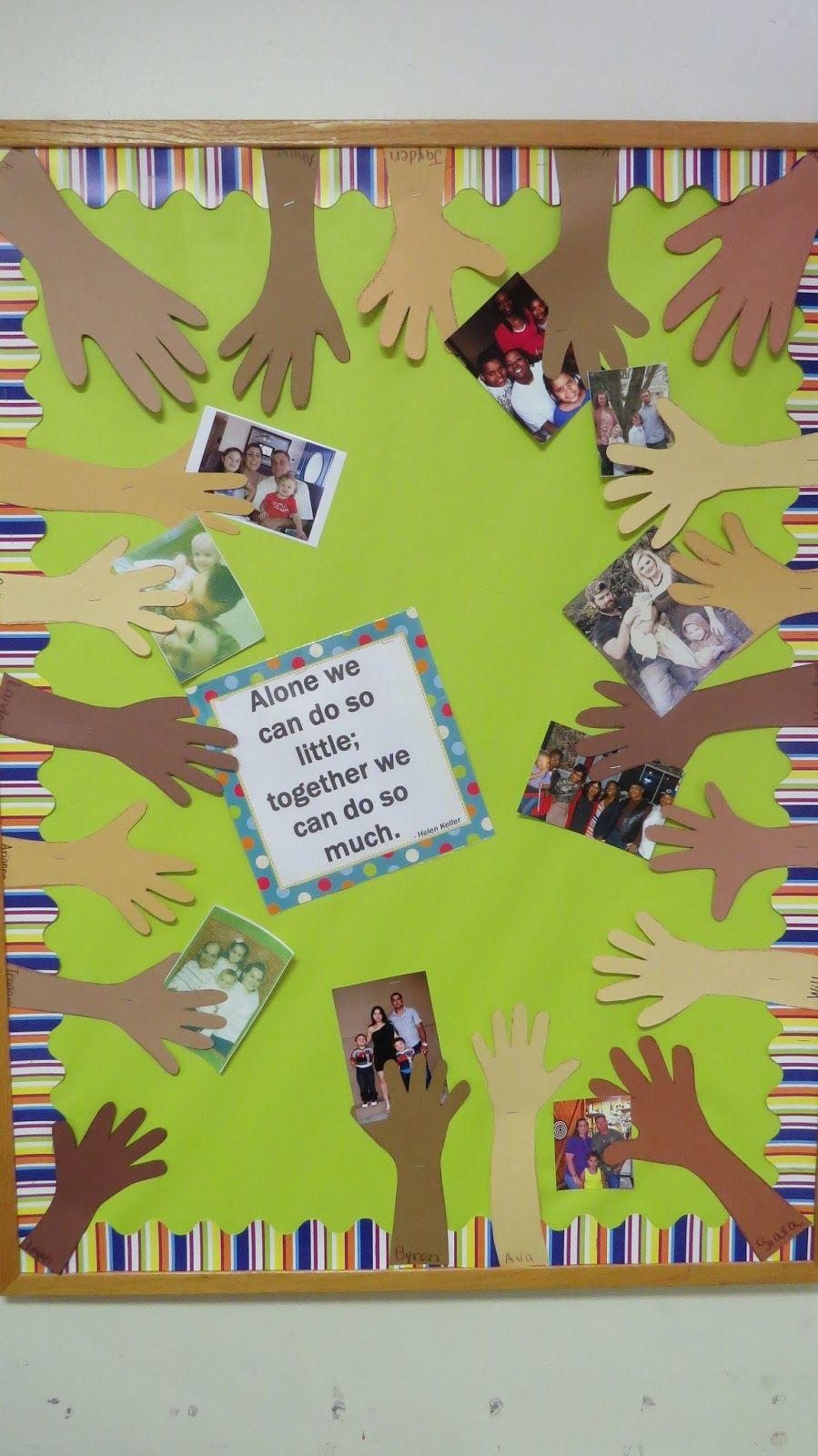 Preschool Family Bulletin Board Ideas