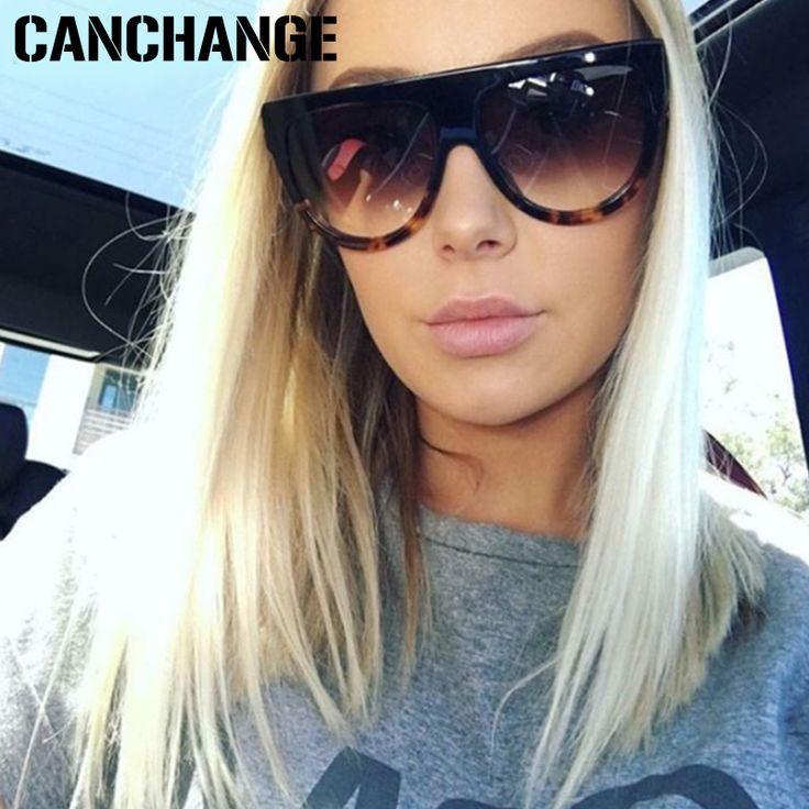 CANCHANGE 2018 Brand Designer Sunglasses Women Gradient Lens Sun Glasses  Women Full Frame Shades Ladies Glasses d99530ac1a