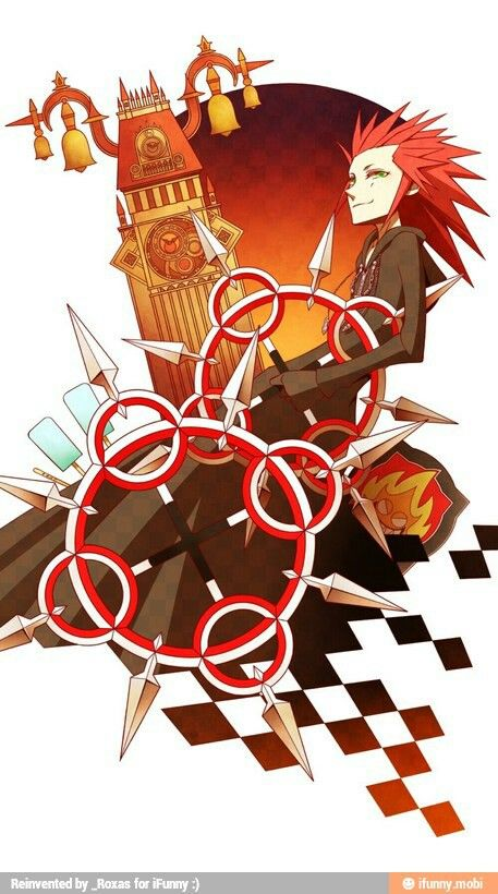 133 best images about Kingdom hearts axel on Pinterest