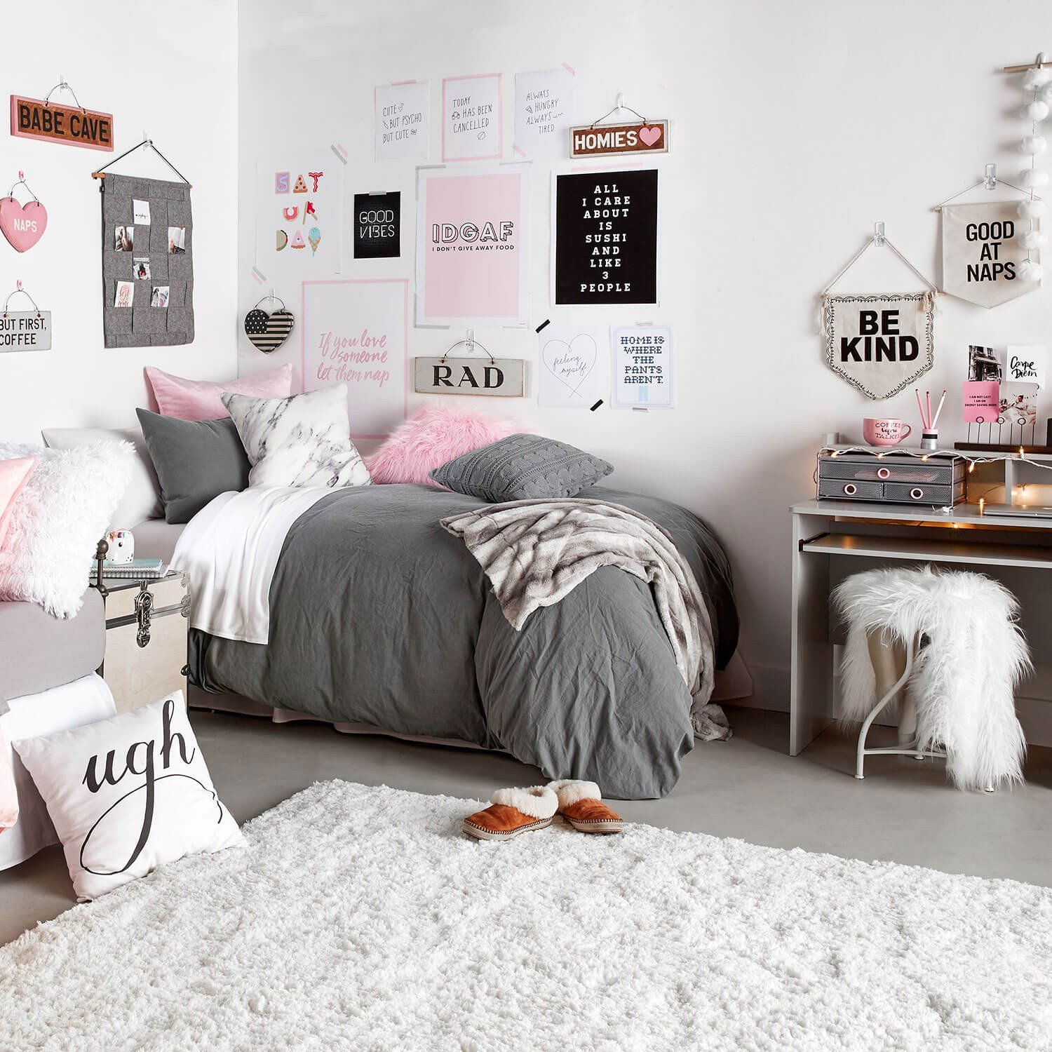 Classically Cozy Room Fg in 2019 Dorm room designs