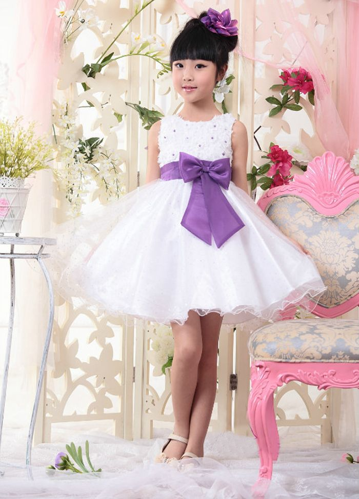 IVE 2014 Girl Dress Girls Party Dress Princess Dress Kids Cake Dress Bowknot Dress Girl Wedding Dress IG102-in Apparel & Accessories on Aliexpress.com
