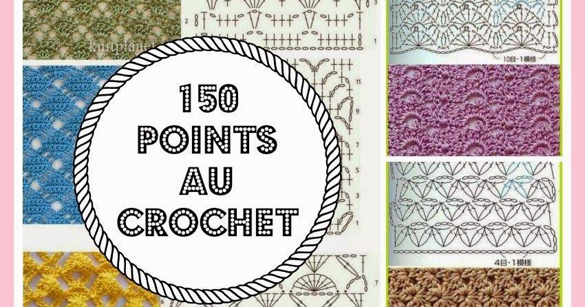 150 PUNTOS FANTASÍA EN CROCHET CON GRÁFICOS PATRONES | Crochet ...