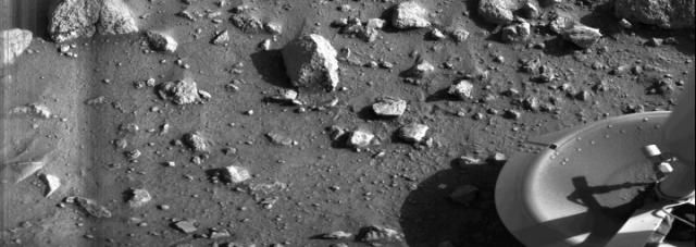 This Is the First Photo Ever Taken from the Martian Surface