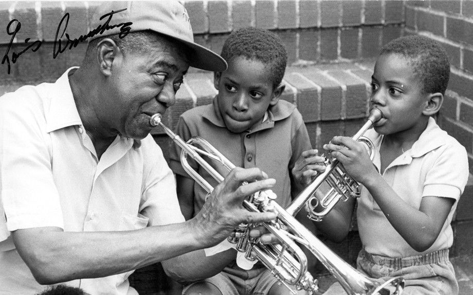 the life and contributions of louis armstrong Free louis armstrong papers, essays  later in life, louis attended the fisk school for armstrong's contribution was also significant in regards of racial.