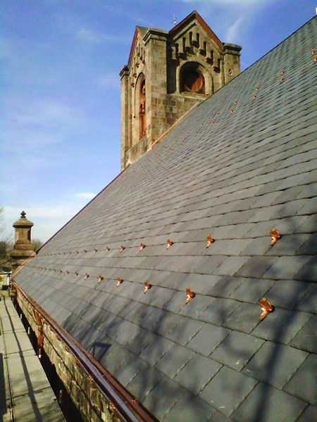 Review Of Certainteed Symphony Slate Synthetic Slate Roofing Synthetic Slate Roofing Slate Roof