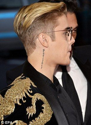 Image result for justin bieber undercut