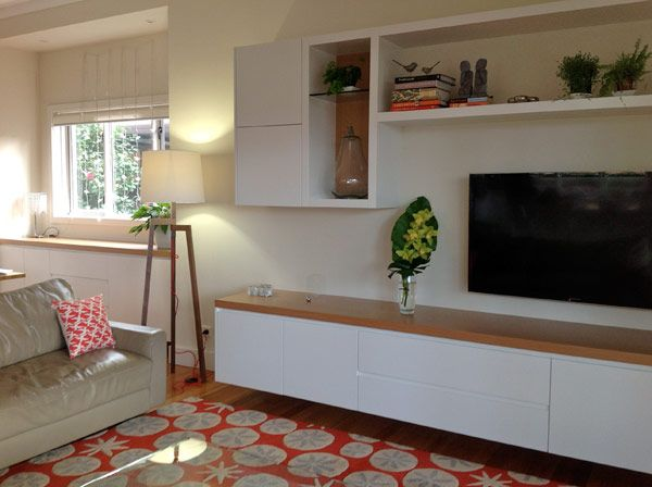 Entertainment cabinetry ideas google search living room pinterest room the unit and wall for Floating wall units for living room
