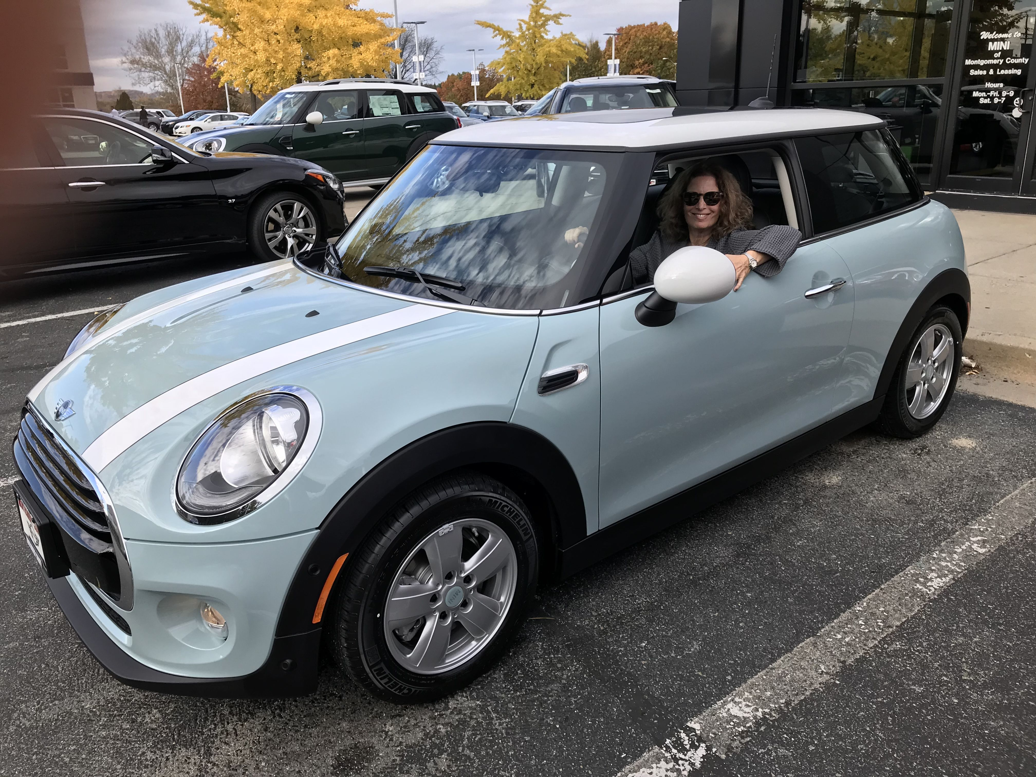 My 2018 Ice Blue Mini Cooper
