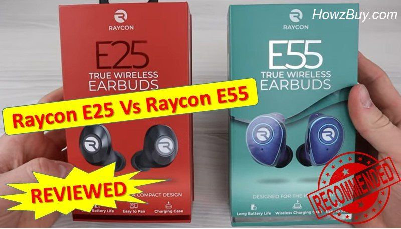 Raycon E25 Vs Raycon E55 Earbuds Review Is Upgrade Worth Spending In 2020 Earbuds Wireless Earbuds Sweat Workout