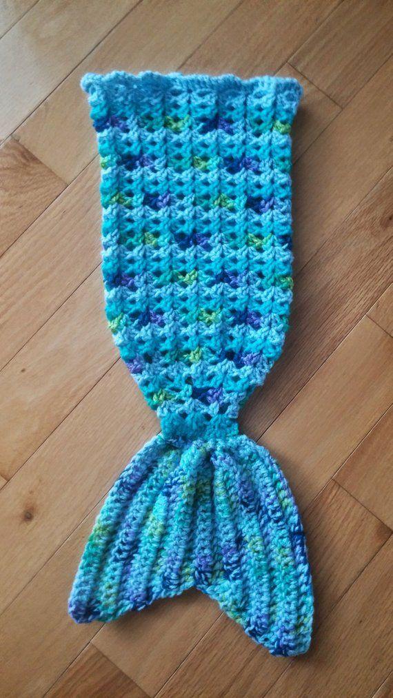 Pattern Infantbabydoll Size Crochet Mermaid Tail Snuggle Sack