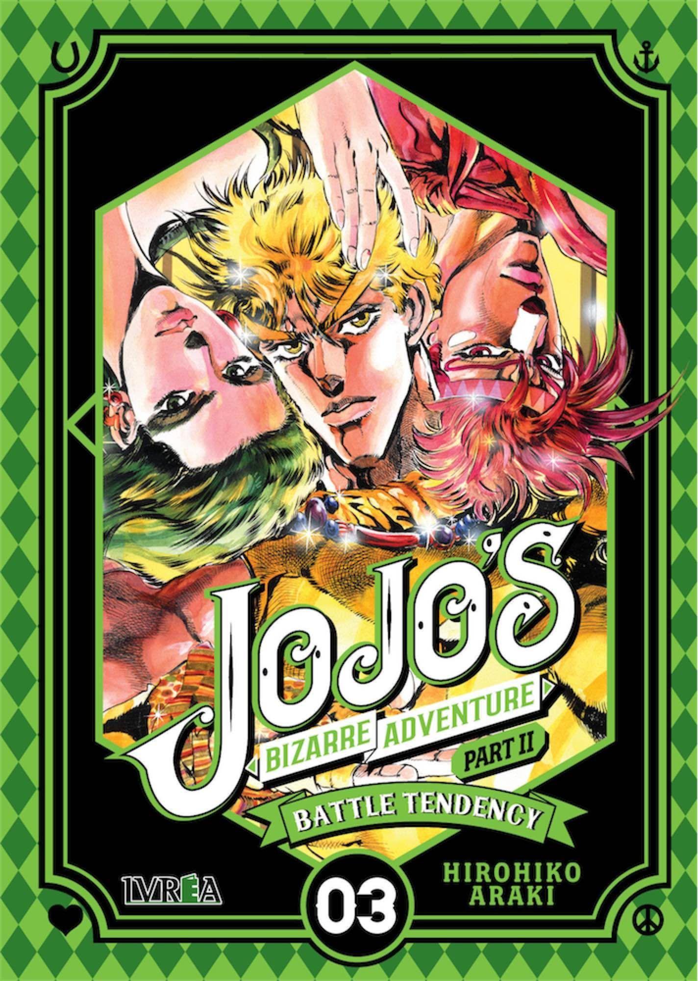 Araki, Hirohiko. Jojo's bizarre adventure part II