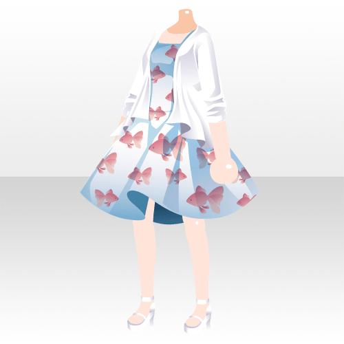 新ガチャはお得 ガチャスクラッチ games アットゲームズ 美しい服 アニメの服を描く キャラクターの衣装