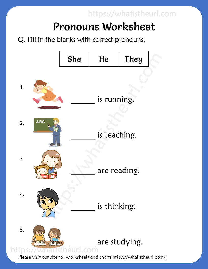 Pronouns Worksheets For Grade 2 2nd Grade Worksheets Pronoun Worksheets English Worksheets For Kids [ 1056 x 816 Pixel ]