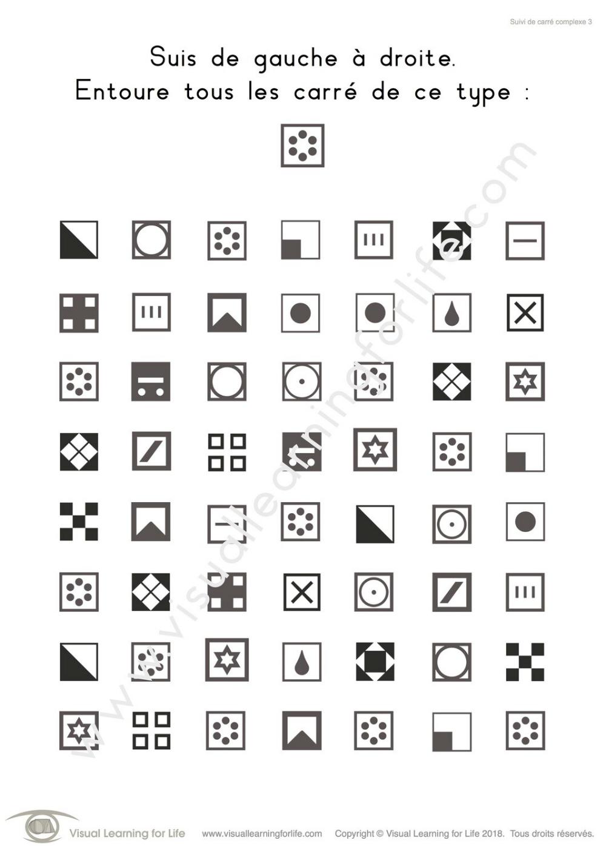Suivi De Carre Complexe Figure Ground Perception Visual Discrimination Spatial Relationships [ 1413 x 1000 Pixel ]