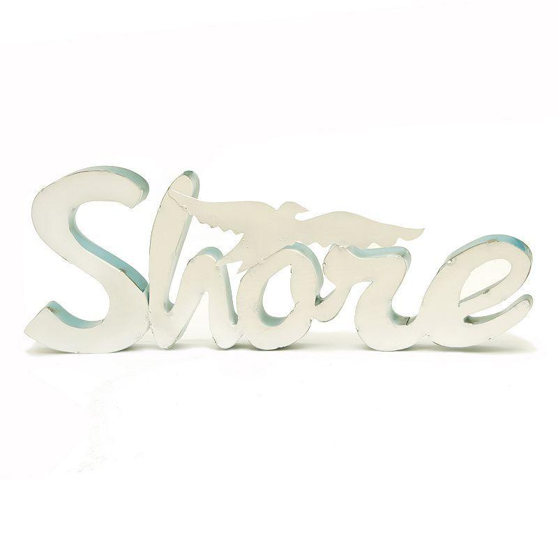 Rustic Arrow ''Shore'' Wall Decor, Brown