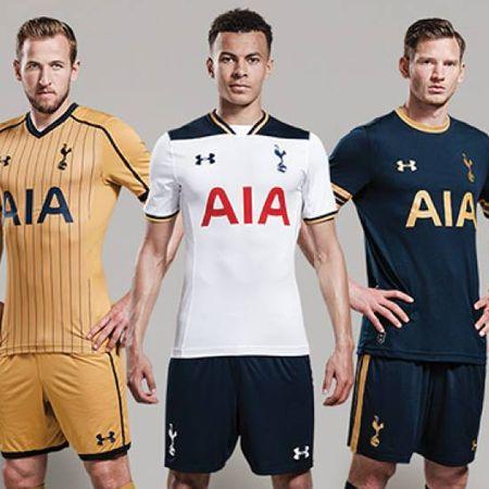 6ba795728ae Tottenham 2016 17 Kits by Under Armour   Football Apparel   Soccer Bible