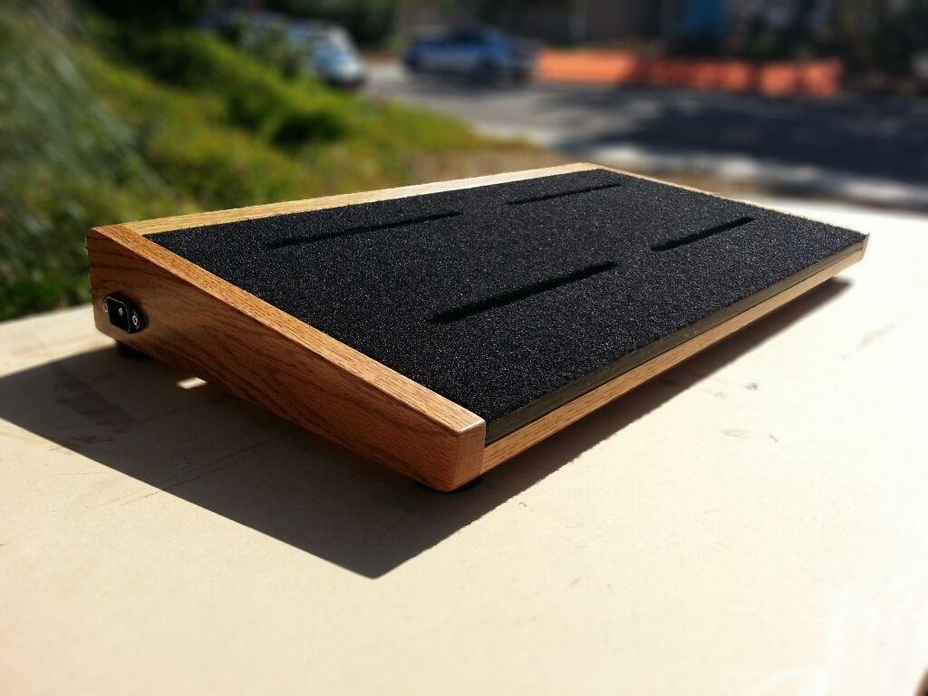 DIY pedalboard [ IMG] | Guitars | Pinterest | Pedalboard, Guitars ...
