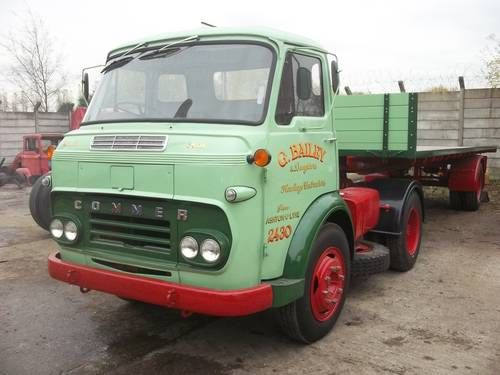 1966 Commer 2 Stroke Restored Vintage Hgv Lorry On Car And