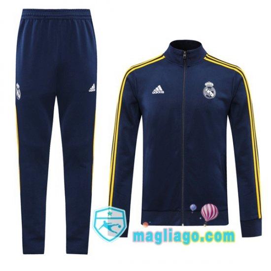Giacca Da Allenamento Real Madrid Blu Royal 2020/2021 nel 2021 ...