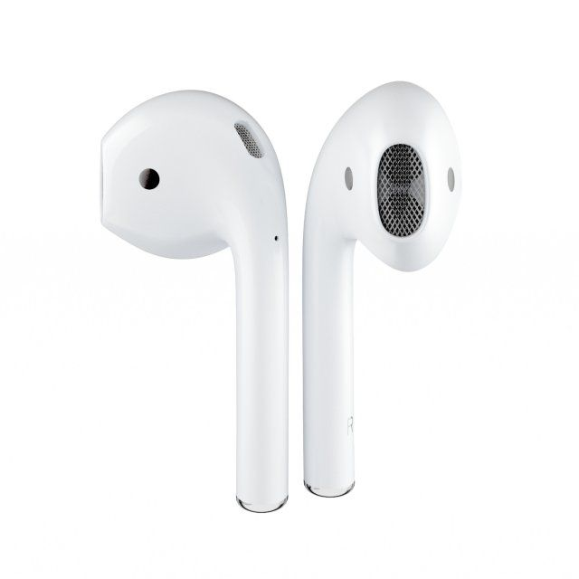 Apple Airpods 3d Model Max C4d Obj 3ds Fbx Lwo Stl