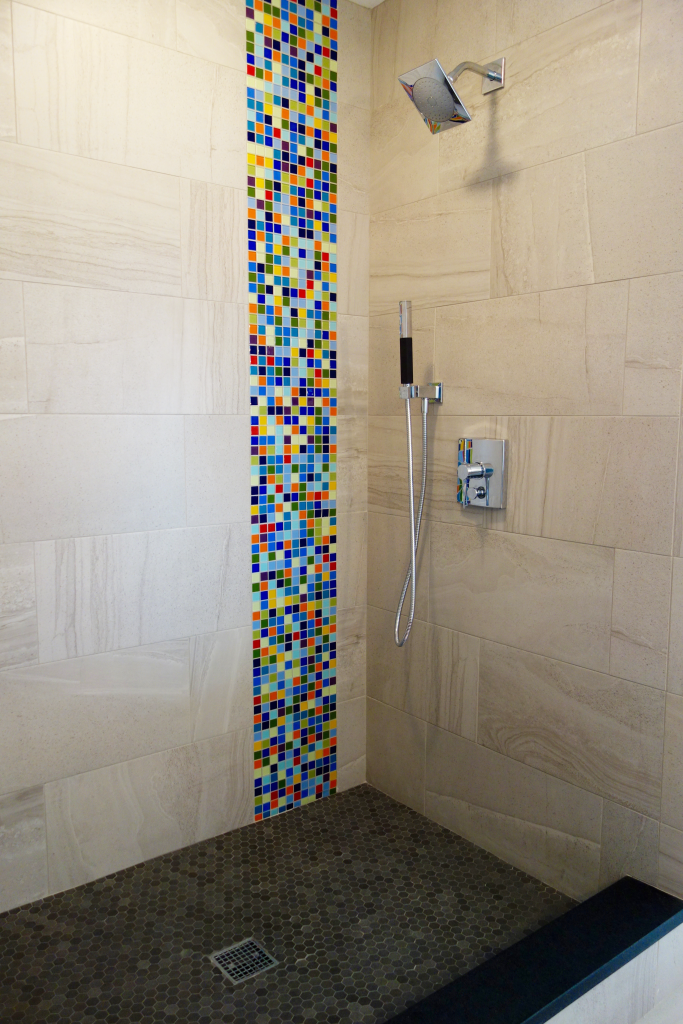 Glass Tile Bathroom Remodeling on a Budget | Glass tile ...