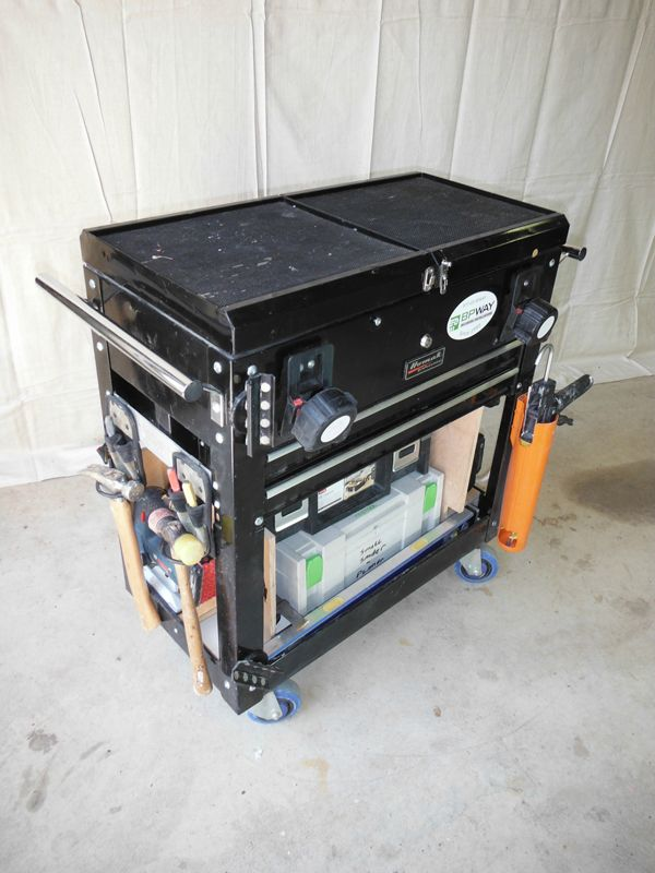 Incredible Tricked Out Tool Cart Tool Boxes And Storage