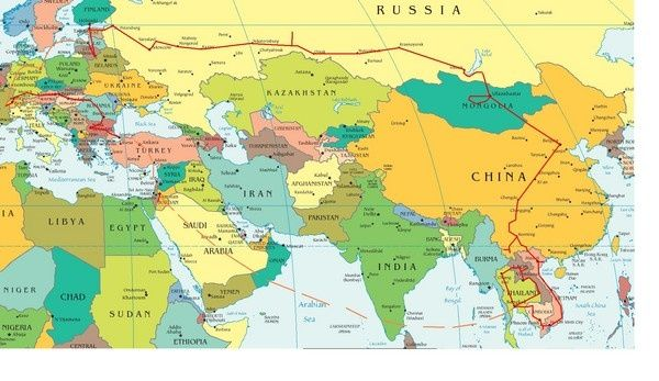 europe middle east asia map map of europe and asia | Europe map, Asia map, Country maps